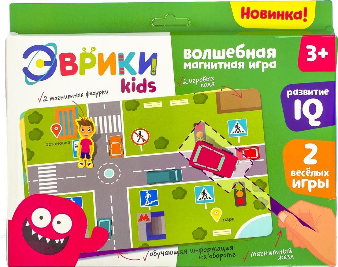 Эврики Магнитная игра Правила дорожного движения настольная игра эврики аквамозаика насекомые 2933730
