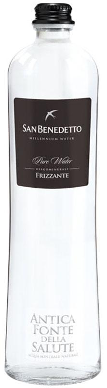 San Benedetto Вода газированная минеральная природная питьевая столовая, 0,65 л, стекло