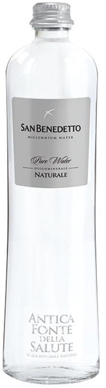 San Benedetto Вода негазированная минеральная природная питьевая столовая, 0,65 л, стекло