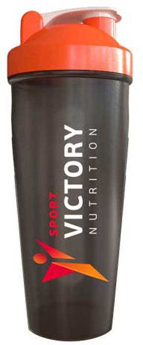"""Шейкер спортивный """"Sport Victory Nutrition"""", цвет: черный, 600 мл"""