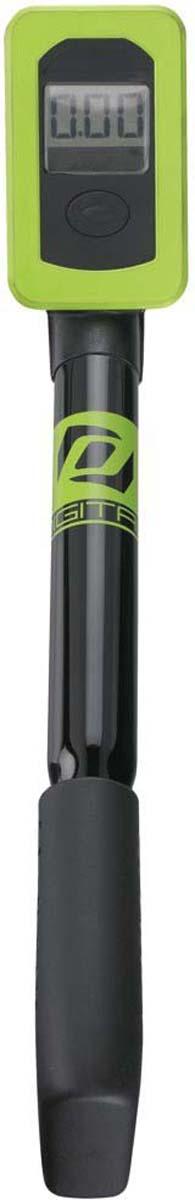 Насос велосипедный Syncros Digital SP1.0, для вилки и амортизатора, цвет: черный