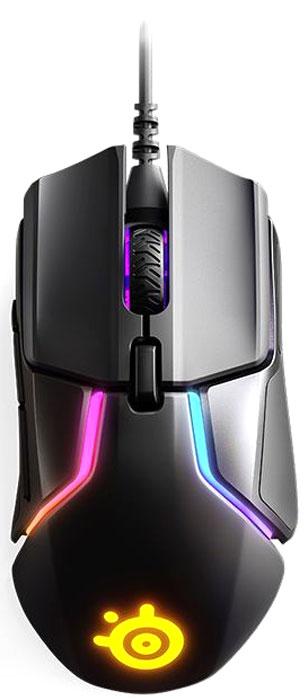 лучшая цена Игровая мышь SteelSeries Rival 600, Black проводная оптическая
