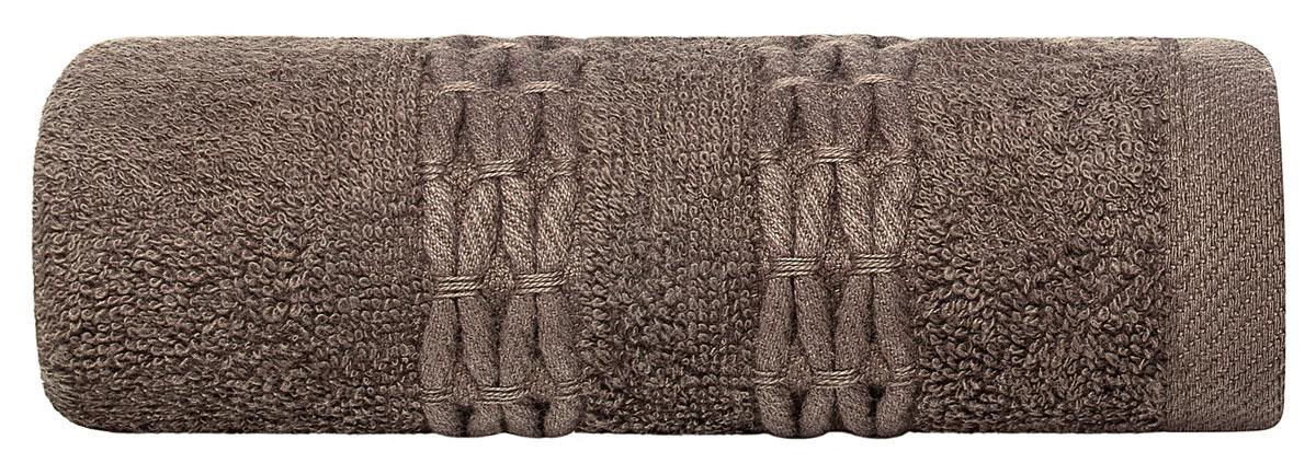 Полотенце Estia Филоменто, цвет: коричневый, 40 х 60 см