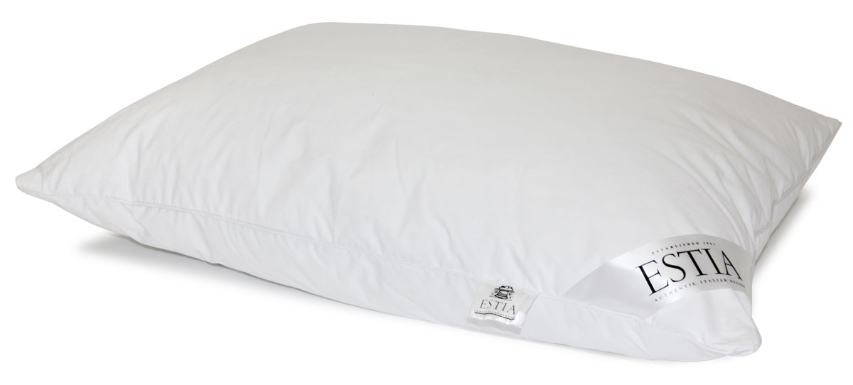 Подушка Estia Венето, наполнитель: пух, 50 х 70 см подушка estia аоста наполнитель пух 70 х 70 см