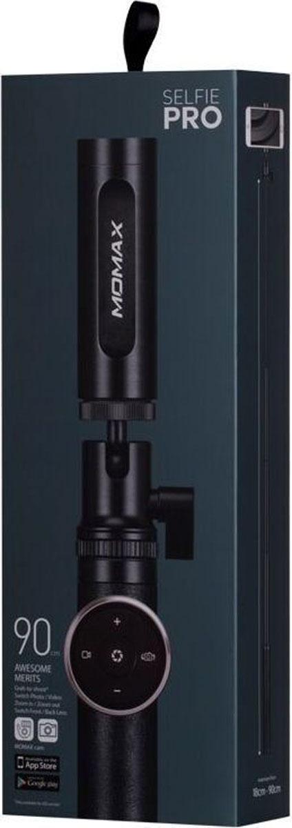 Momax Selfie Pro Premium, Black монопод для селфи цена