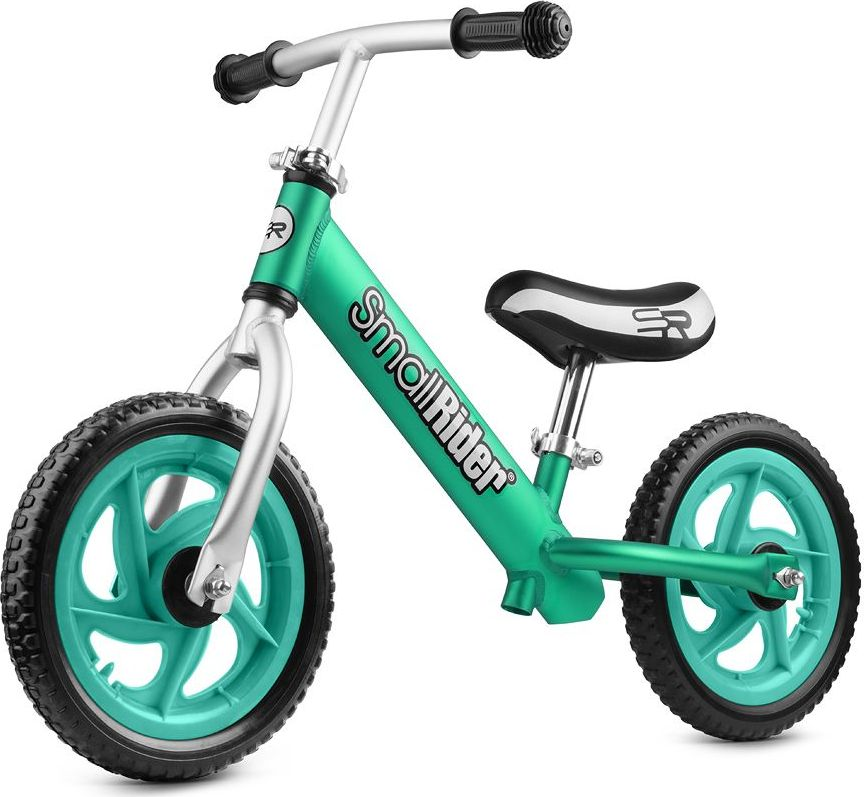 беговелы Small Rider Беговел детский Foot Racer EVA цвет аква