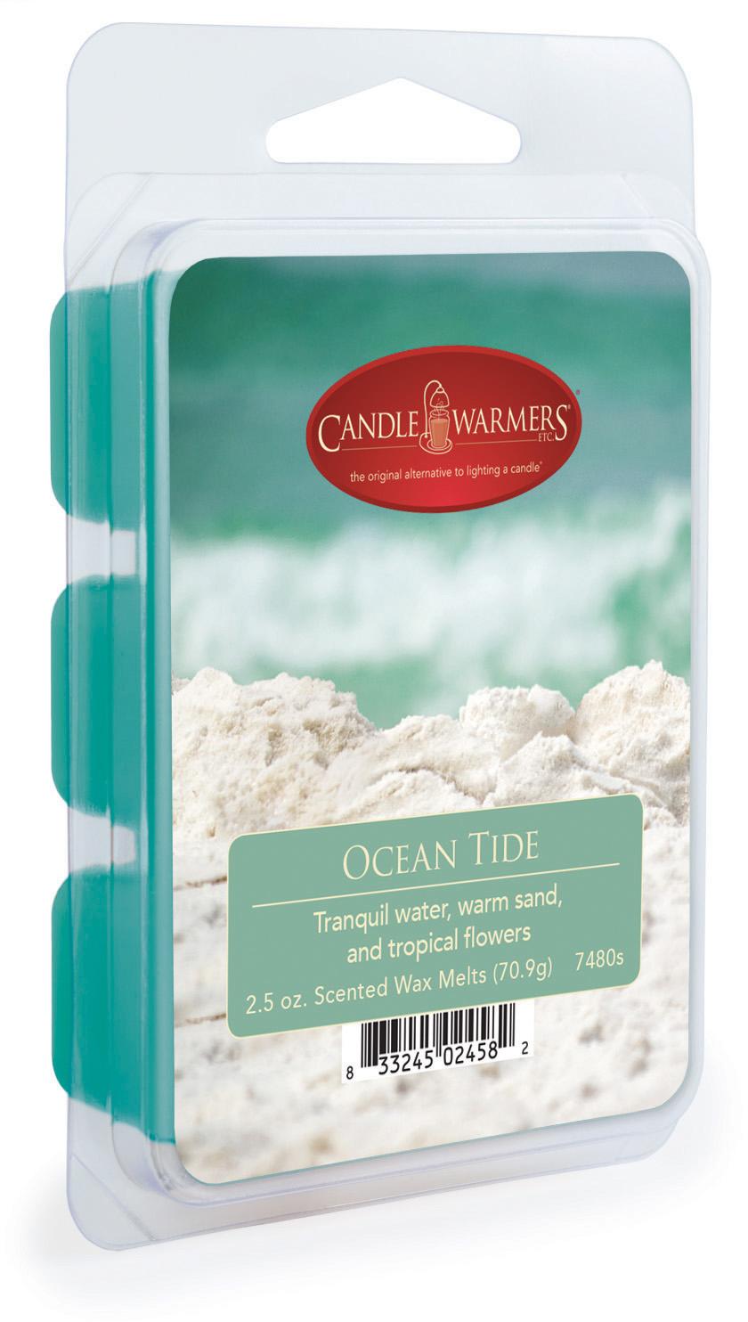 Воск ароматический Candle Warmers Волны океана / Ocean Tide, цвет: голубой, 75 г ольга юречко донатас банионис волны океана соляриса