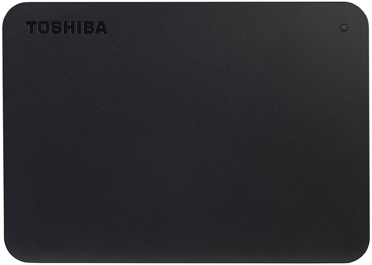 Toshiba Canvio Basics New 1TB, Black внешний жесткий диск (HDTB410EK3AA) жесткий диск toshiba canvio basics 1tb black hdtb410ek3aa