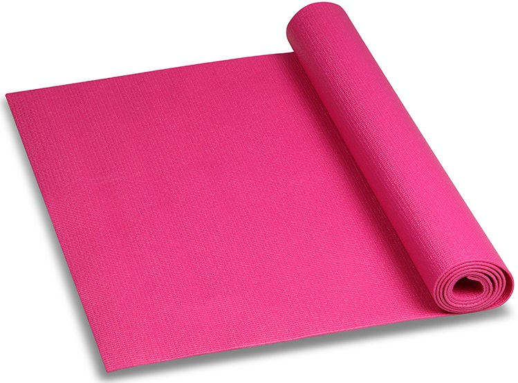 Коврик для йоги и фитнеса Indigo, цвет: цикламеновый, 173 х 61 х 0,6 см коврик для йоги onerun цвет фиолетовый 183 х 61 х 0 4 см