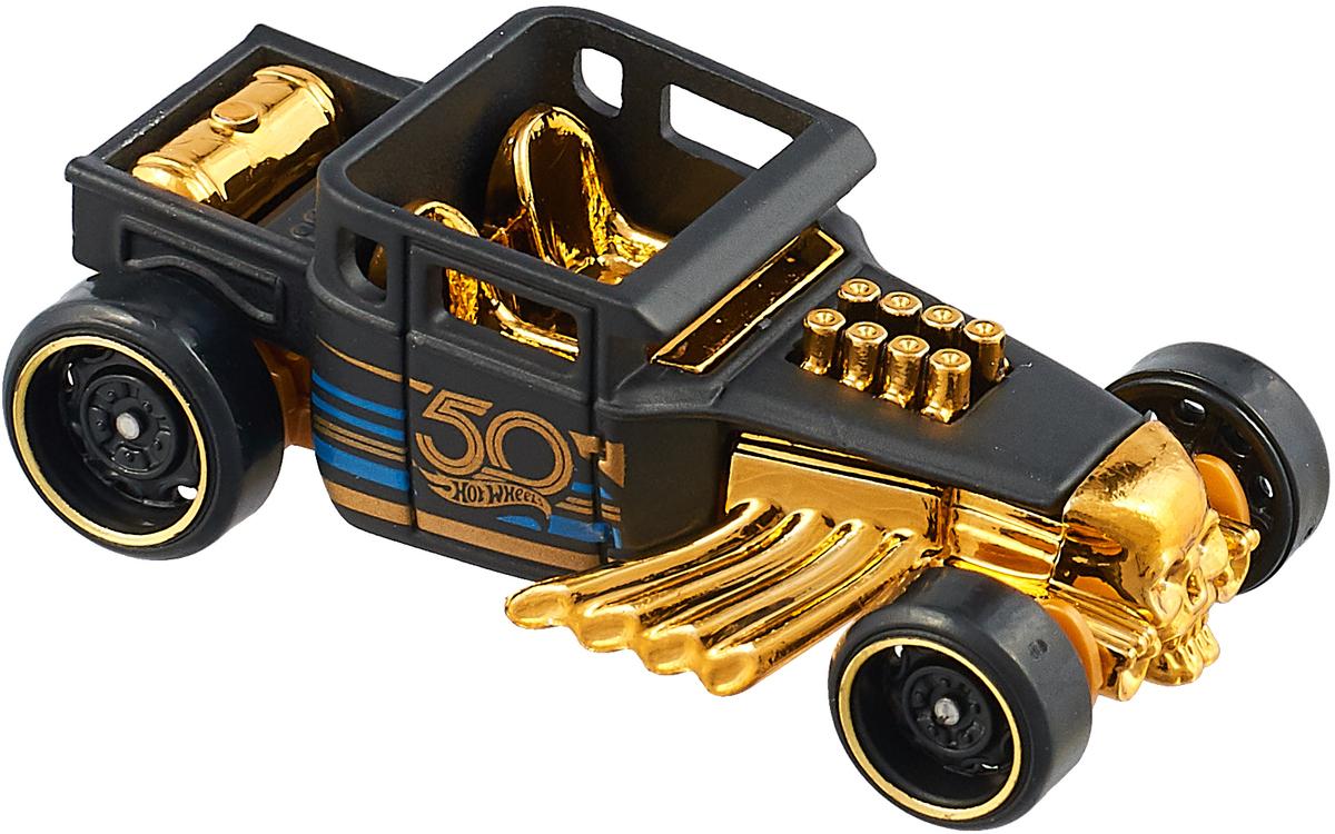 где купить Hot Wheels Трековые машинки Тематические Юбилейные BONE SHAKER дешево