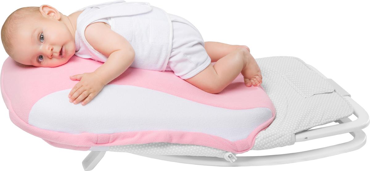 Dolce Bambino Подушка-матрас для новорожденных Dolce Pad Plus цвет розовый 65 х 38 х 18 см