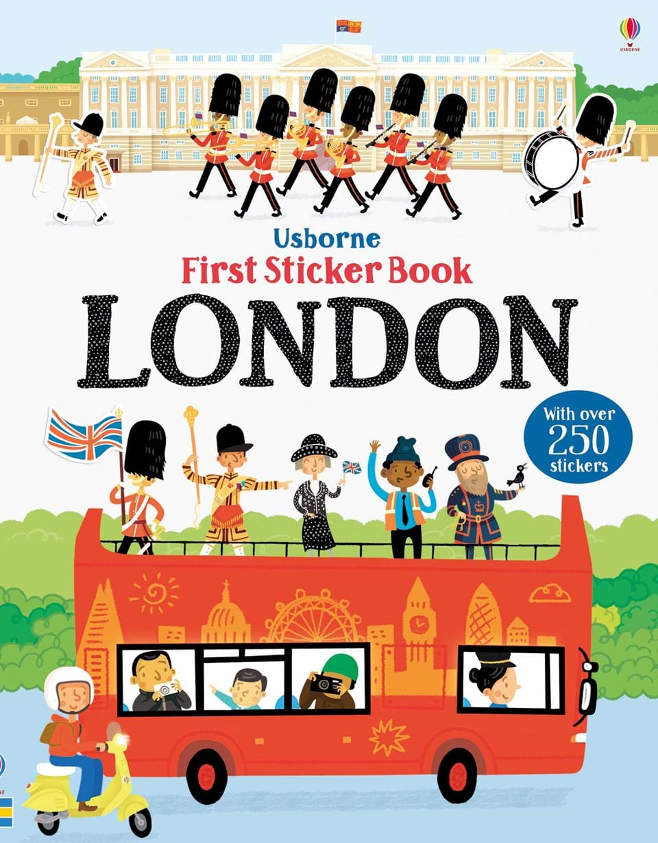 First Sticker Book: London 3d london tower bridge stairs sticker famous building decorative stairway