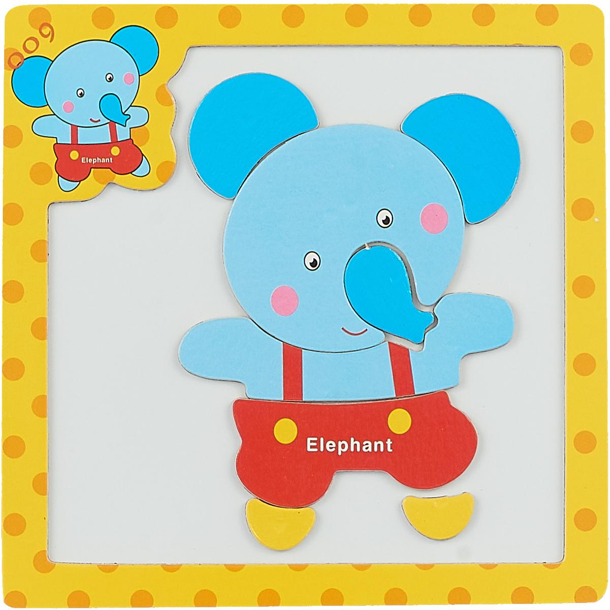 Mapacha Магнитный пазл Животные Слон