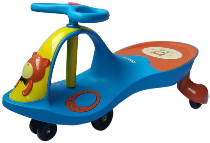 Everflo Машинка-каталка Smart Car Mini Blue М002-3 каталка everflo м002 2 металл от 3 лет на колесах зеленый м002 2