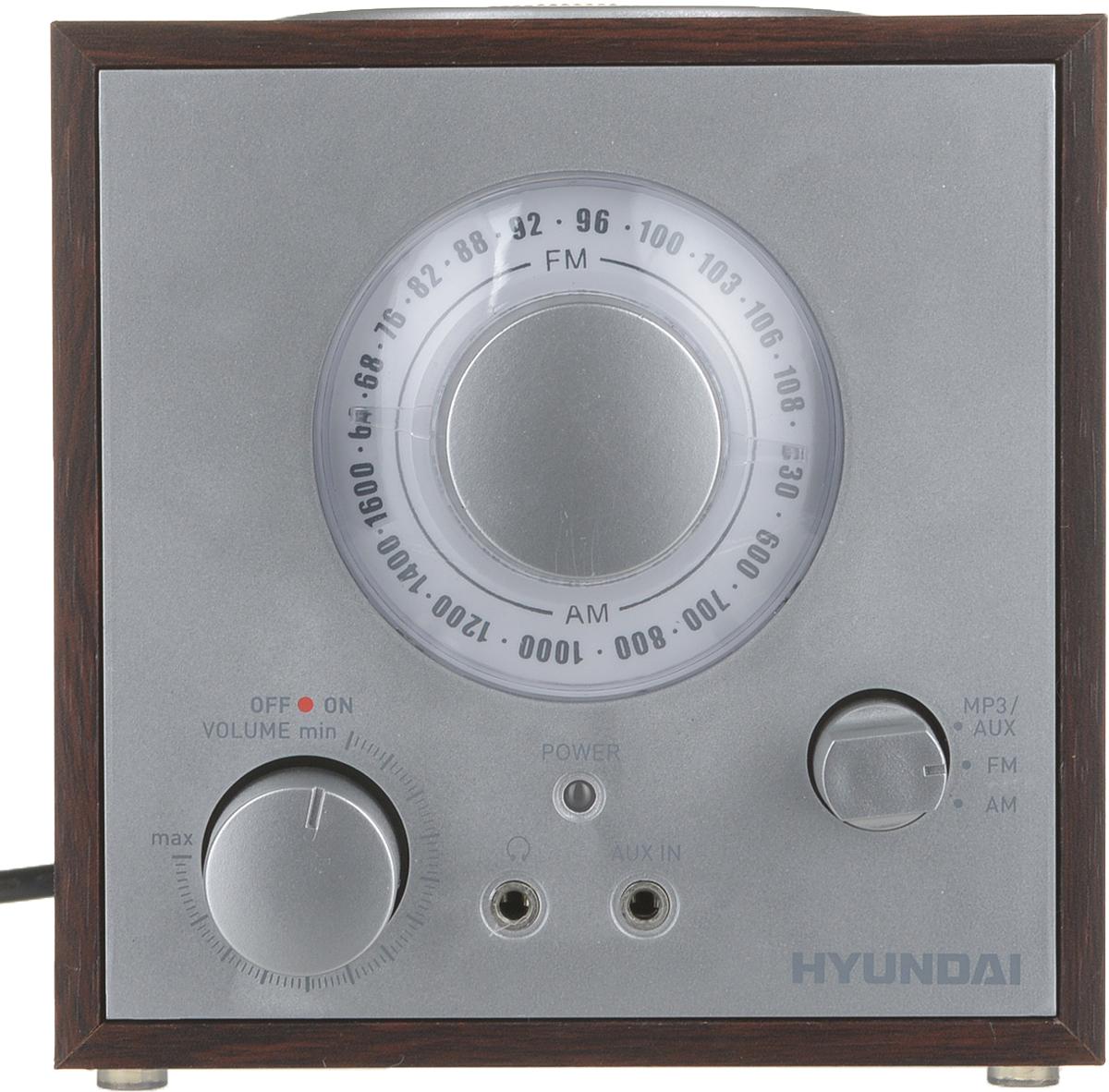 Hyundai H-SRS200 радиоприемник hyundai h srs220 вишня