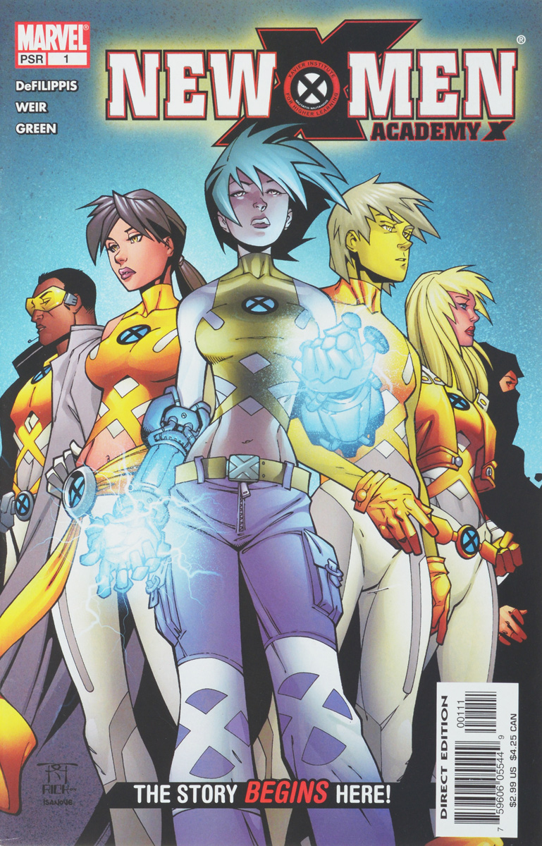 Nunzio DeFilippis, Christina Weir, Randall (Randy) Green New X-Men #1 ultrafire diving 50m waterproof 800lm 1 mode white light led flashlight yellow green 1 x 18650