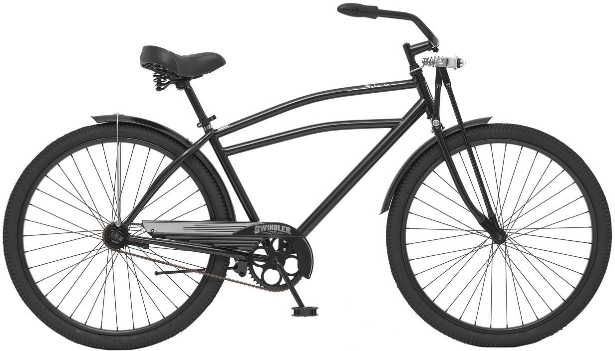Велосипед городской Schwinn Swindler, колесо 27,5, рама 18, цвет: черный