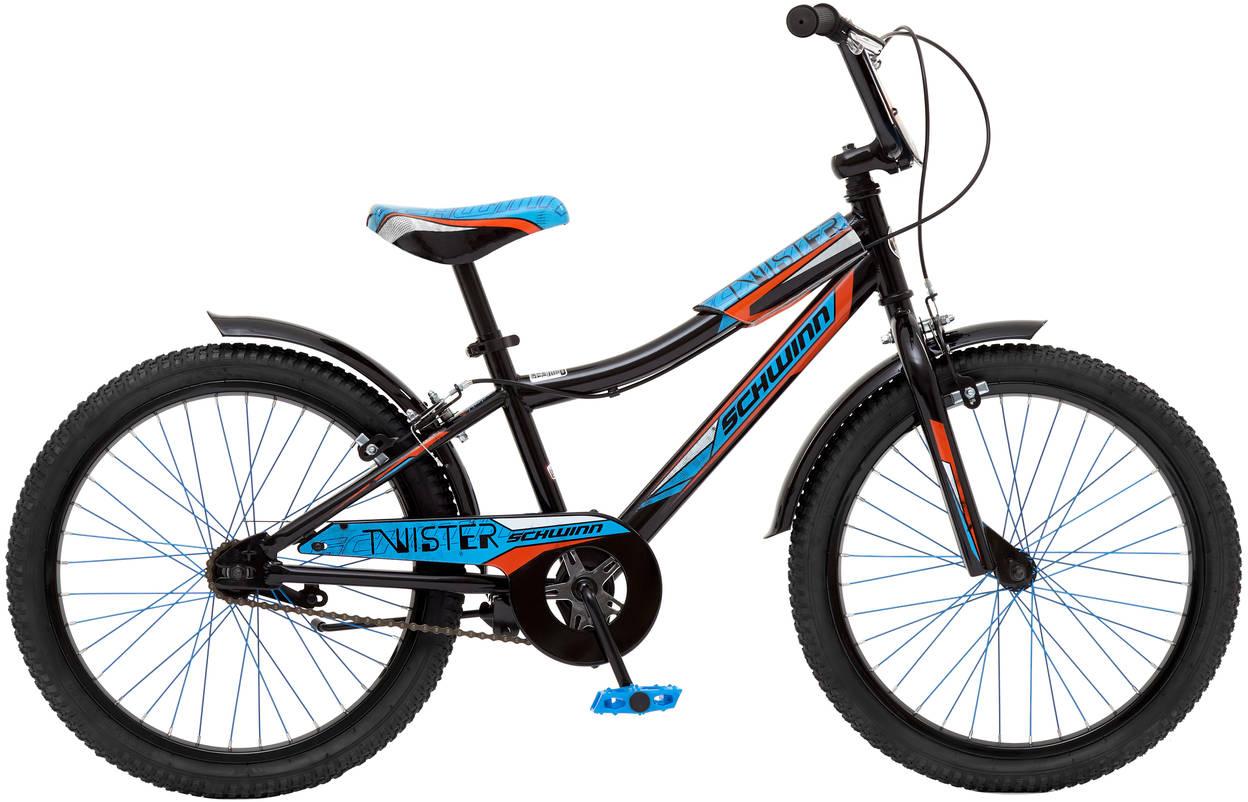 Велосипед детский Schwinn Twister, колесо 20, цвет: черный велосипед schwinn twister 2017