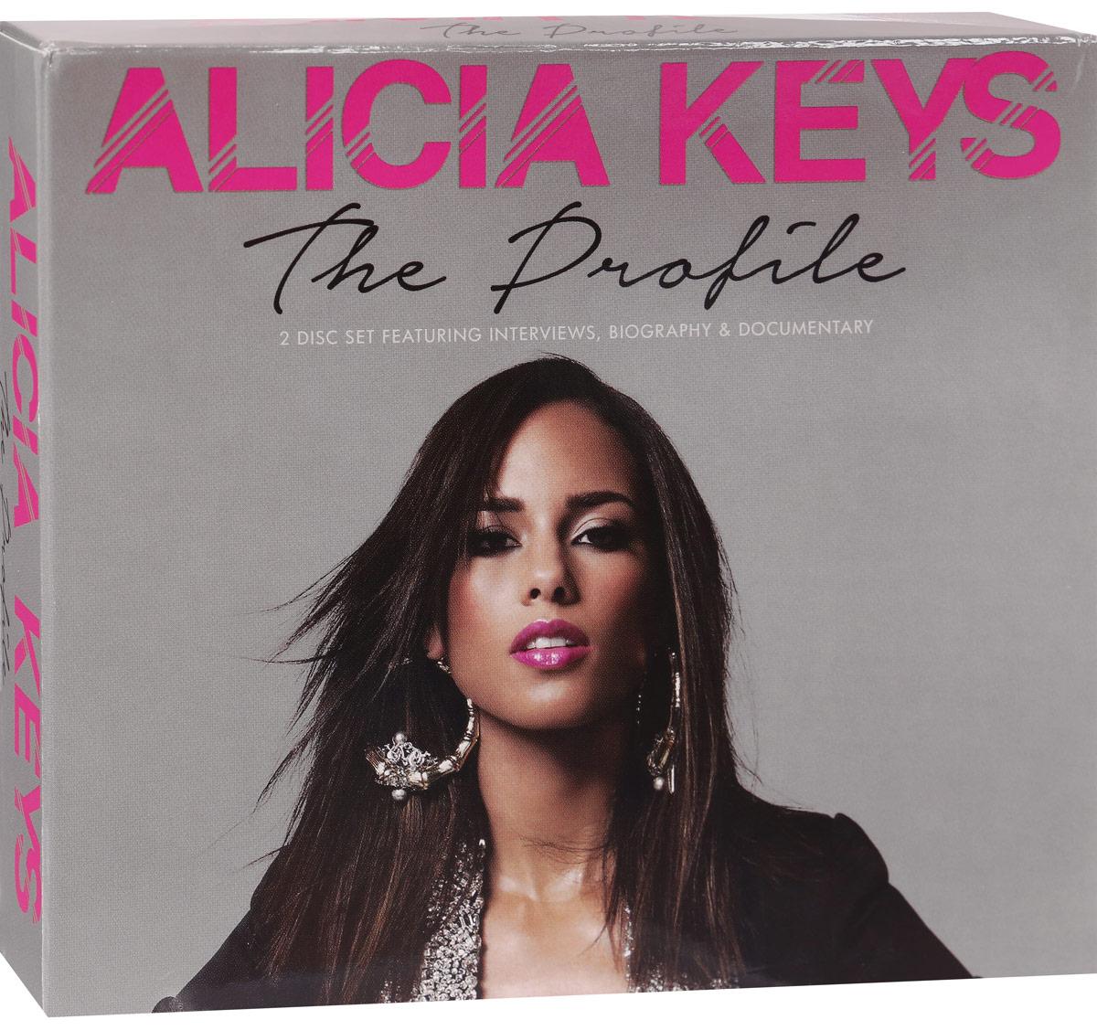 Фарелл Уильямс Alicia Keys. The Profile (2 CD) цена 2017