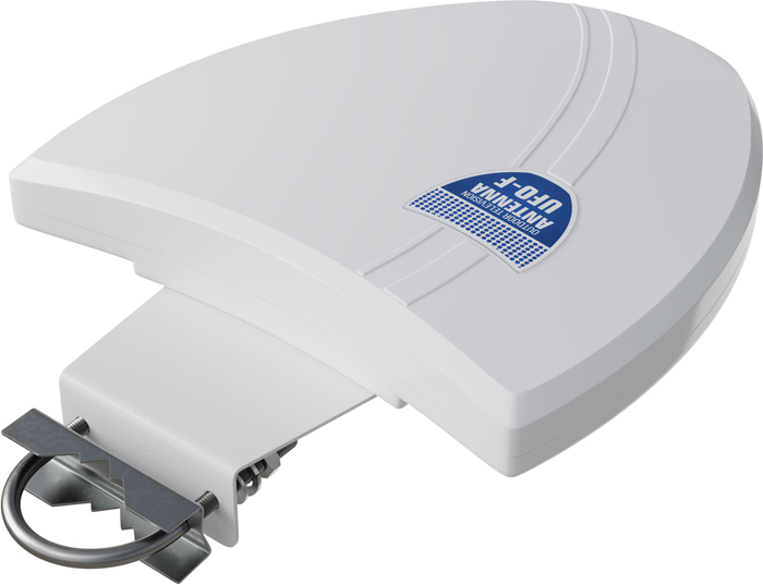 РЭМО BAS-1117-USB UFO, White уличная ТВ-антенна (активная) цена и фото
