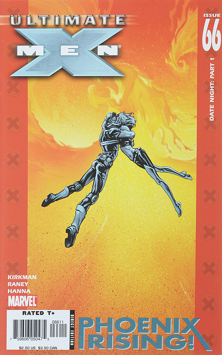 Robert Kirkman, Tom Raney, Scott Hanna Ultimate X-Men #66 robert kirkman ben oliver ultimate x men 76