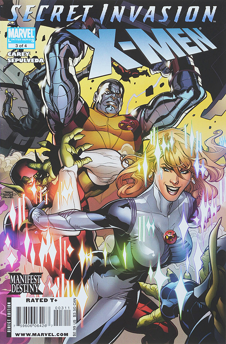 Mike Carey, Miguel Angel Sepulveda Secret Invasion: X-Men #3