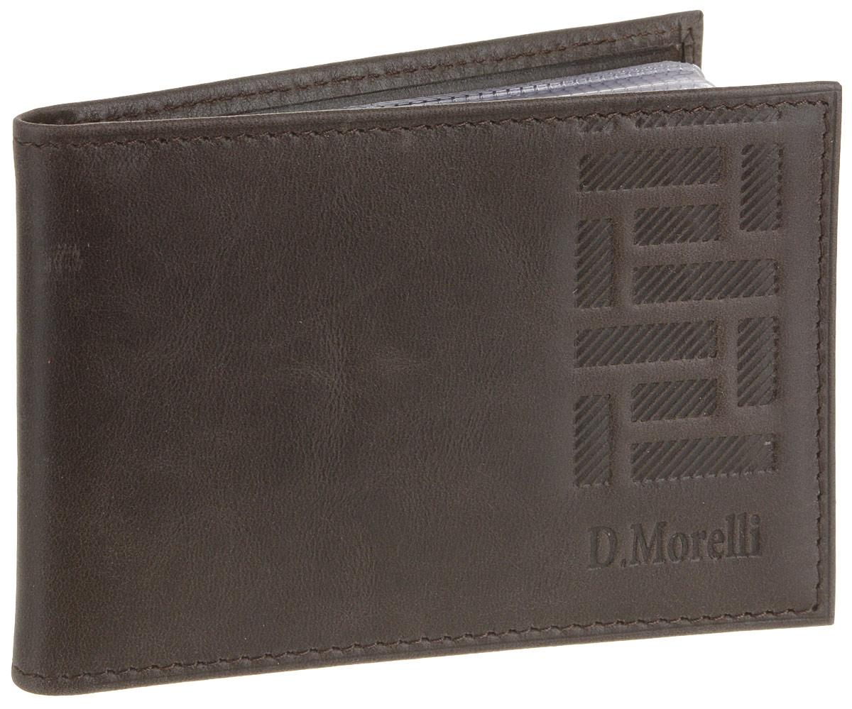 Визитница мужская D. Morelli Колизей, цвет: коричневый. DM-WZ03-K024DM-WZ03-K024Визитница горизонтальная. Внутренний функционал: на внутреннем развороте два кармана из натуральной кожи с прорезными карманами для карт и внутренний блок для визиток из прозрачного пластика на 16 листов - вмещает 32 карты. Материал: натуральная кожа. Брендированная подкладка. Упаковка: подарочная коробка D. Morelli, пакет ПВД D. Morelli.