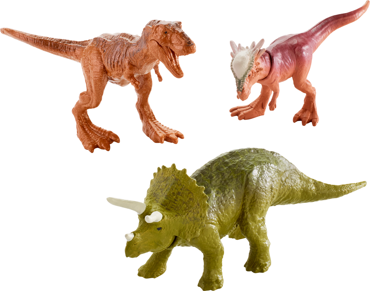 Jurassic World Фигурка Мини-динозавры 3 шт FPN84