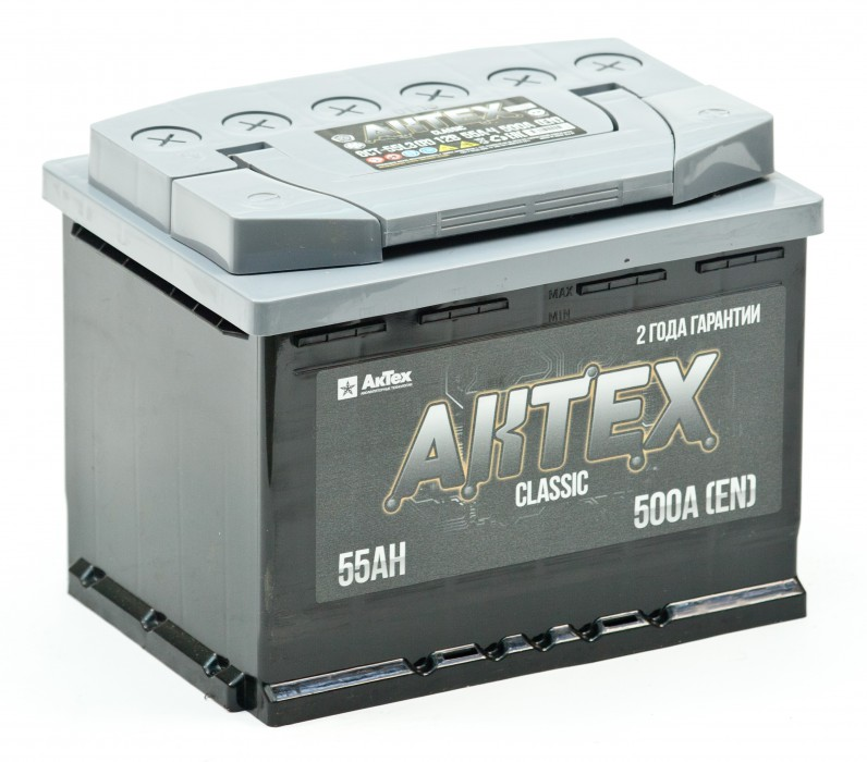 Автомобильный аккумулятор АКТЕХ CLASSIC 60R (60  АЗ-R)