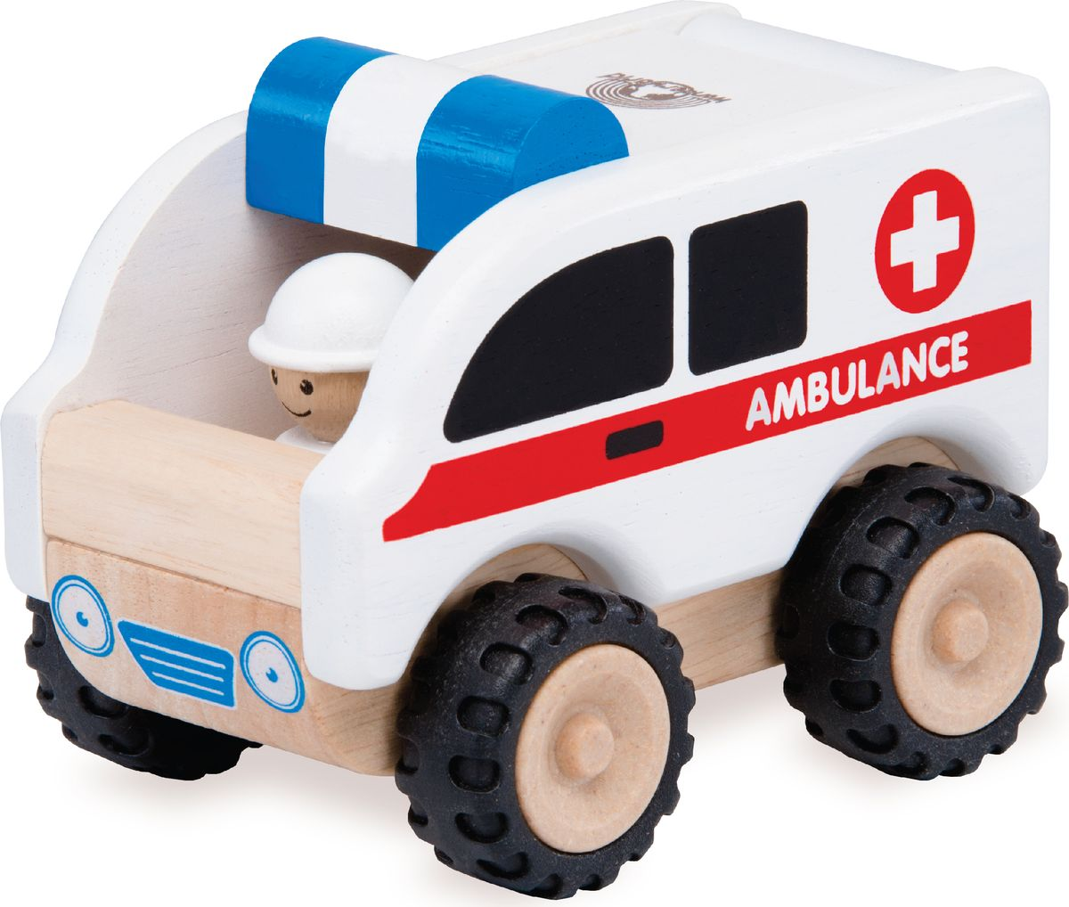 Wonderworld Деревянная игрушка Скорая помощь Miniworld скорая помощь от тревоги как избавиться от напряжения волнения и обрести спокойствие