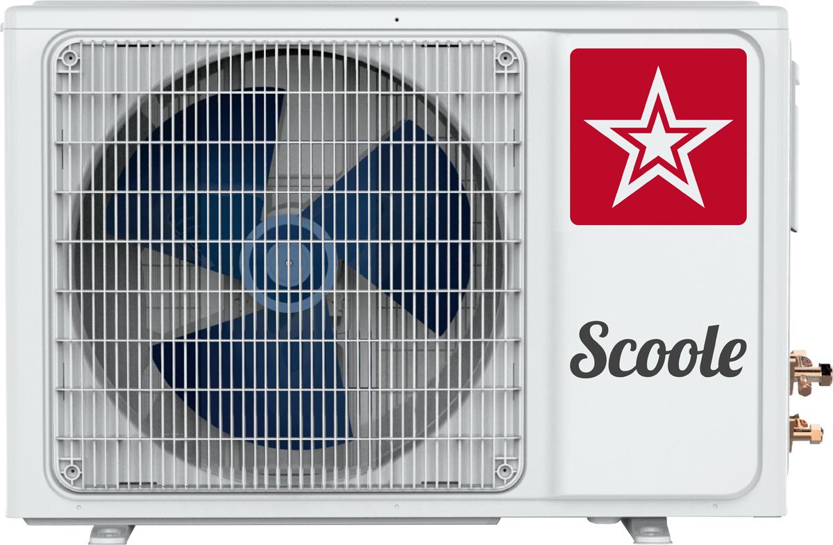 Внешний блок сплит-системы Scoole Air Wave DC SC AC SPI2 09/O, белый цена и фото