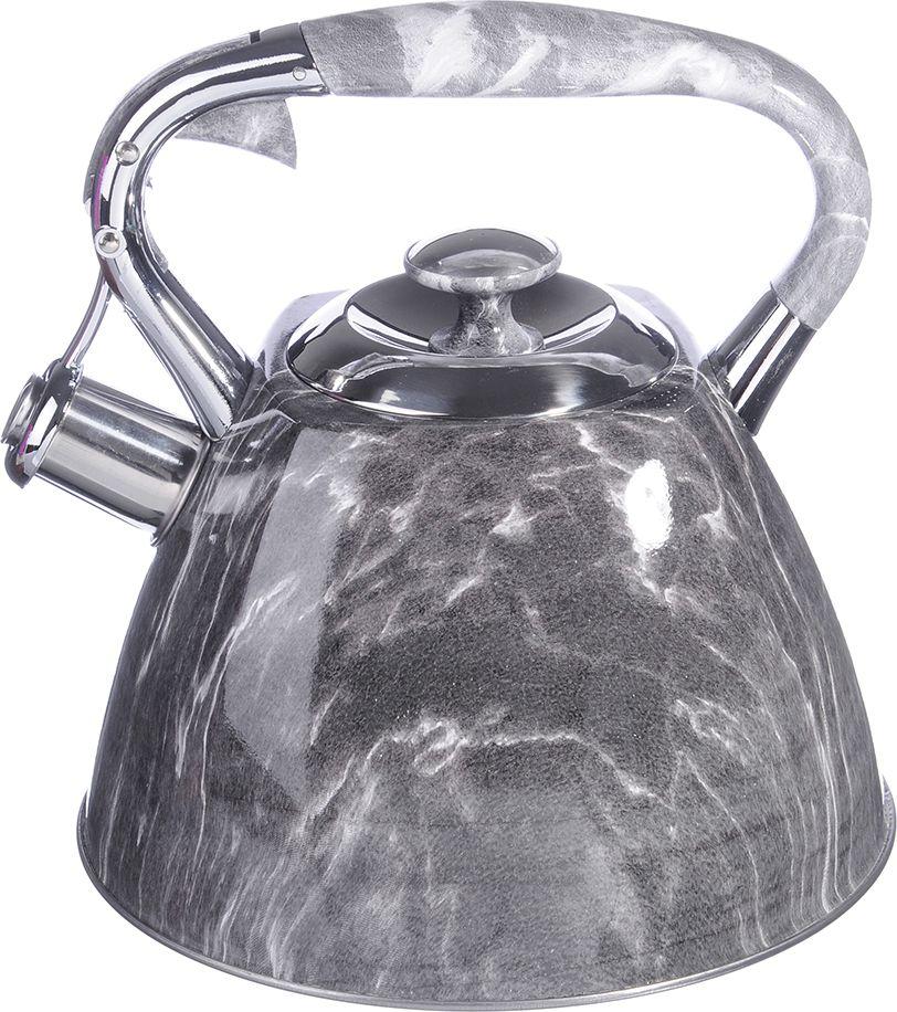 Чайник стальной Vetta Мрамор, 2,7 л цена