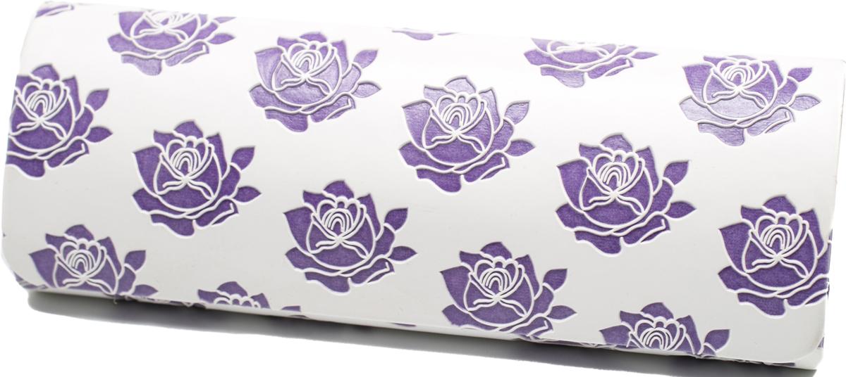 Футляр для очков женский Mitya Veselkov, цвет: белый, фиолетовый. GM-AL-10207-A12с3 цена и фото