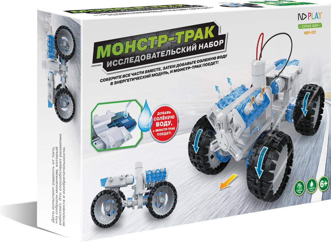 ND Play Конструктор Монстр-трак конструктор развивающий hlb автомобиль на соленой воде