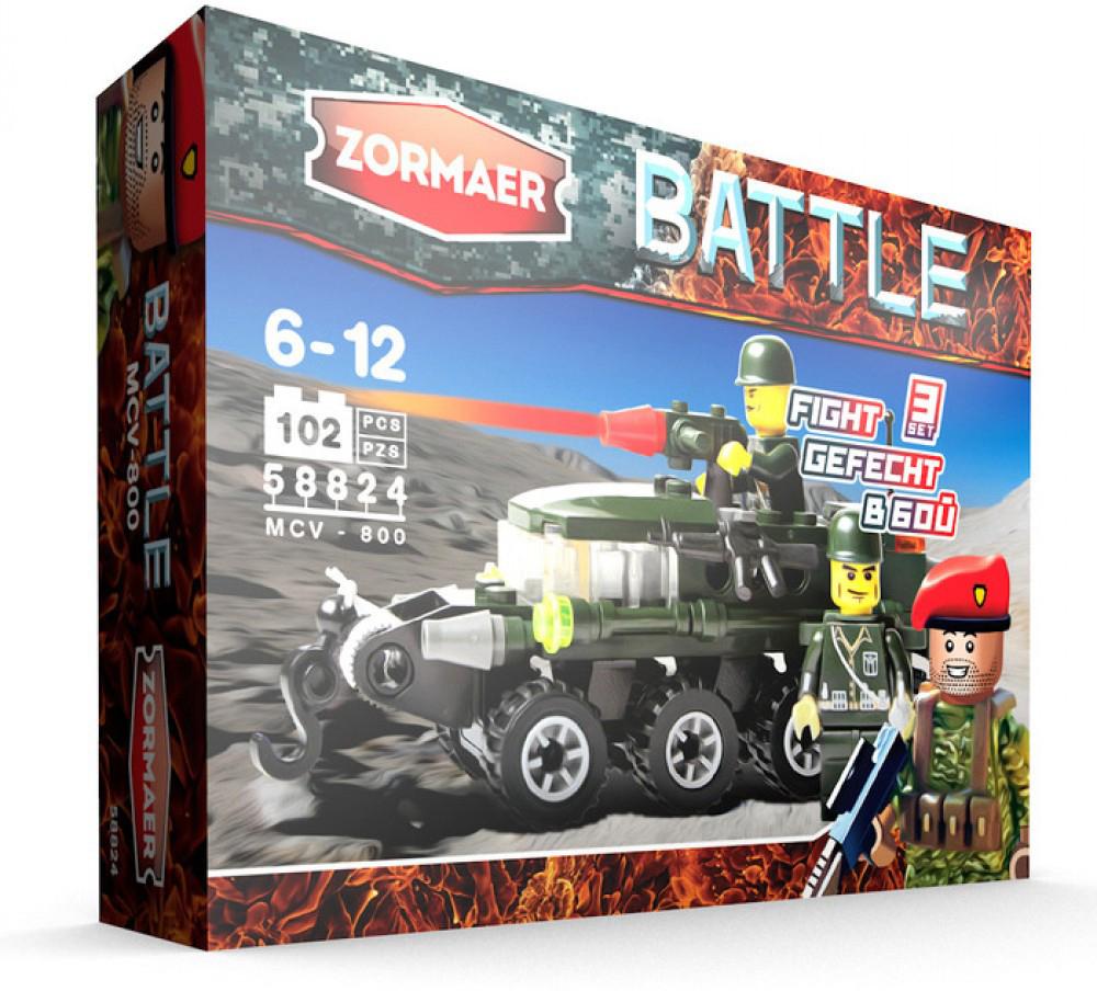 Zormaer Конструктор БМП-800 конструктор zormaer white guard 96 деталей
