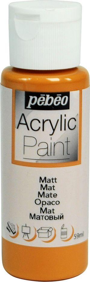 Pebeo Краска акриловая Acrylic Paint матовая цвет 097815 карамель 59 мл