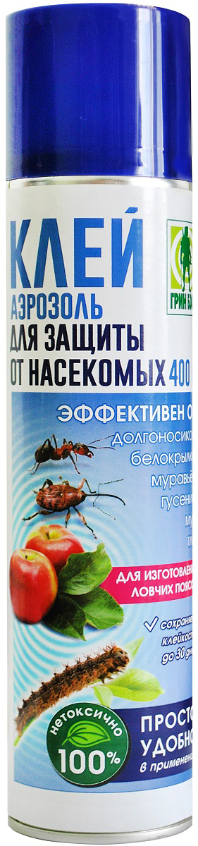 Аэрозоль Грин Бэлт Клей, для защиты от насекомых-вредителей, 400 мл аэрозоль от насекомых combat multi spray 400 мл