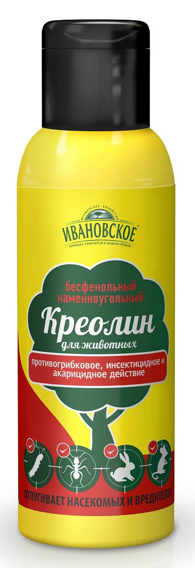 Удобрение Фермерское хозяйство Ивановское Креолин, 100 мл удобрение фермерское хозяйство ивановское для рассады 50г коричневый