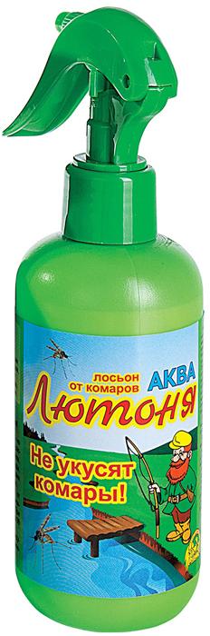 Аква-спрей от комаров Ваше хозяйство Лютоня, для взрослых и детей старше 10 лет, 200 мл комплект ваше хозяйство капут фумигатор жидкость от комаров 30 мл
