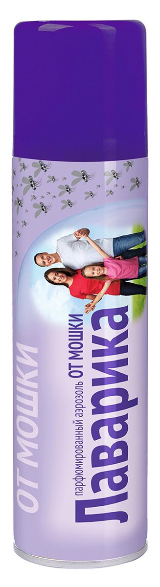 Аэрозоль от мошки Ваше хозяйство Лаварика, 210 см куб от комаров и мошки