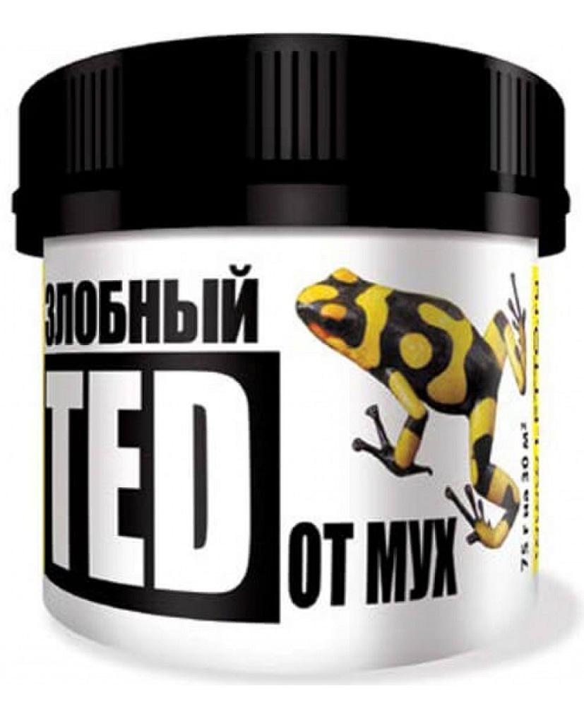 Средство от мух Злобный ТЭД, 75 г средство от мух в помещении