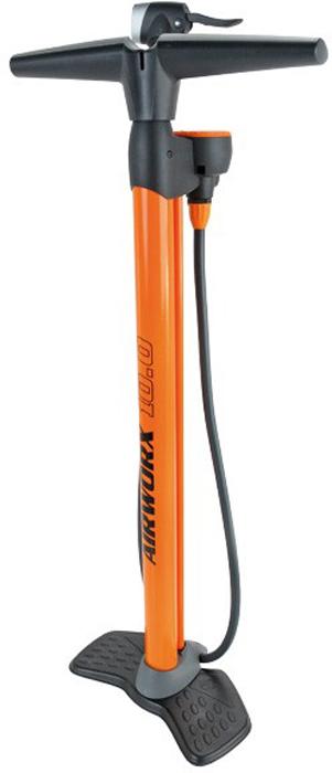 Насос SKS Airworx 10.0, цвет: оранжевый, 10 бар переходник головка 0 11161 со шлангом sks 11161 av presta
