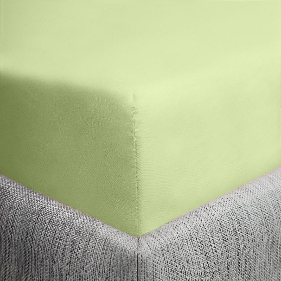 Простыня Dome Furina, цвет: салатовый, 200 x 214 см цена