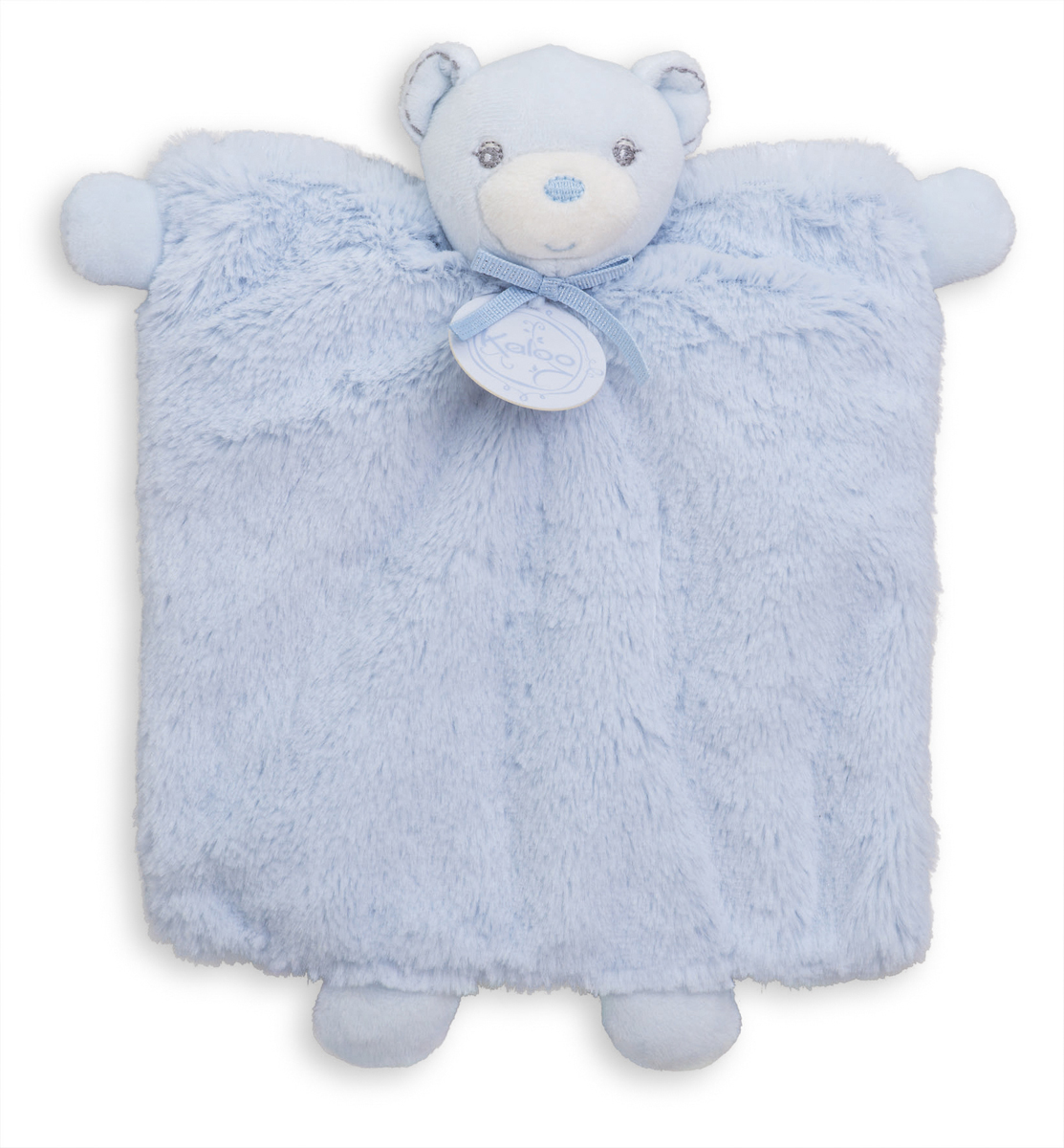 Kaloo Игрушка-комфортер Мишка цвет голубой