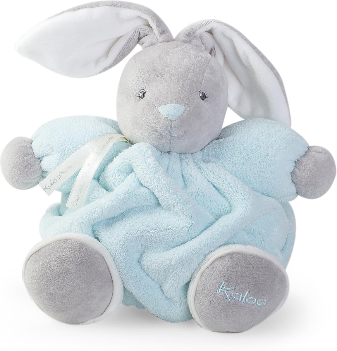 Kaloo Мягкая игрушка Заяц цвет нежно-голубой 25 см