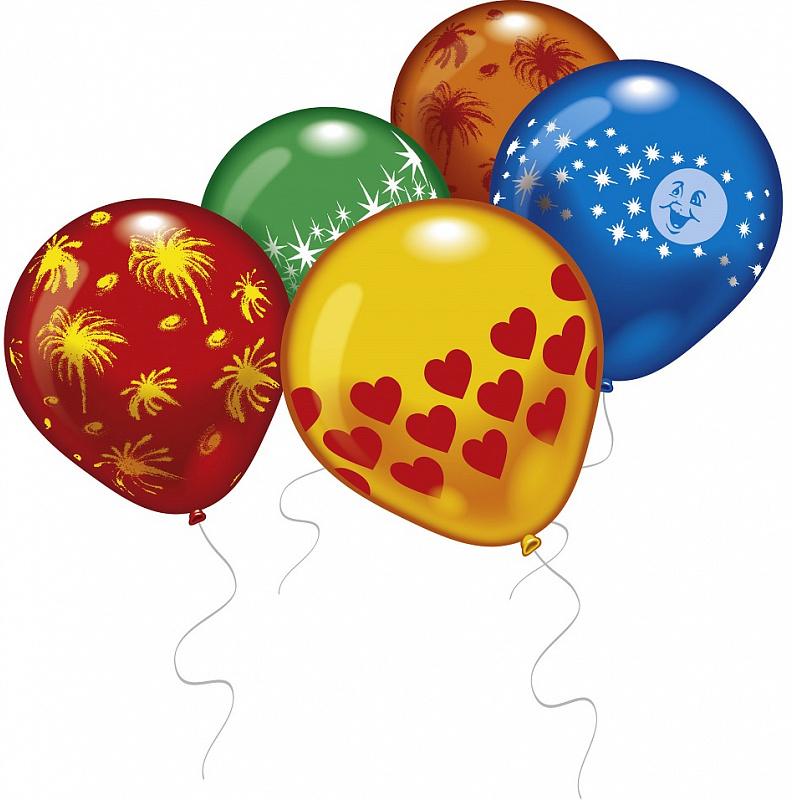 Everts Набор воздушных шариков Ассорти 8 шт шарики надувные everts 46510