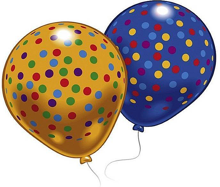 цена на Everts Набор воздушных шариков Конфетти 8 шт
