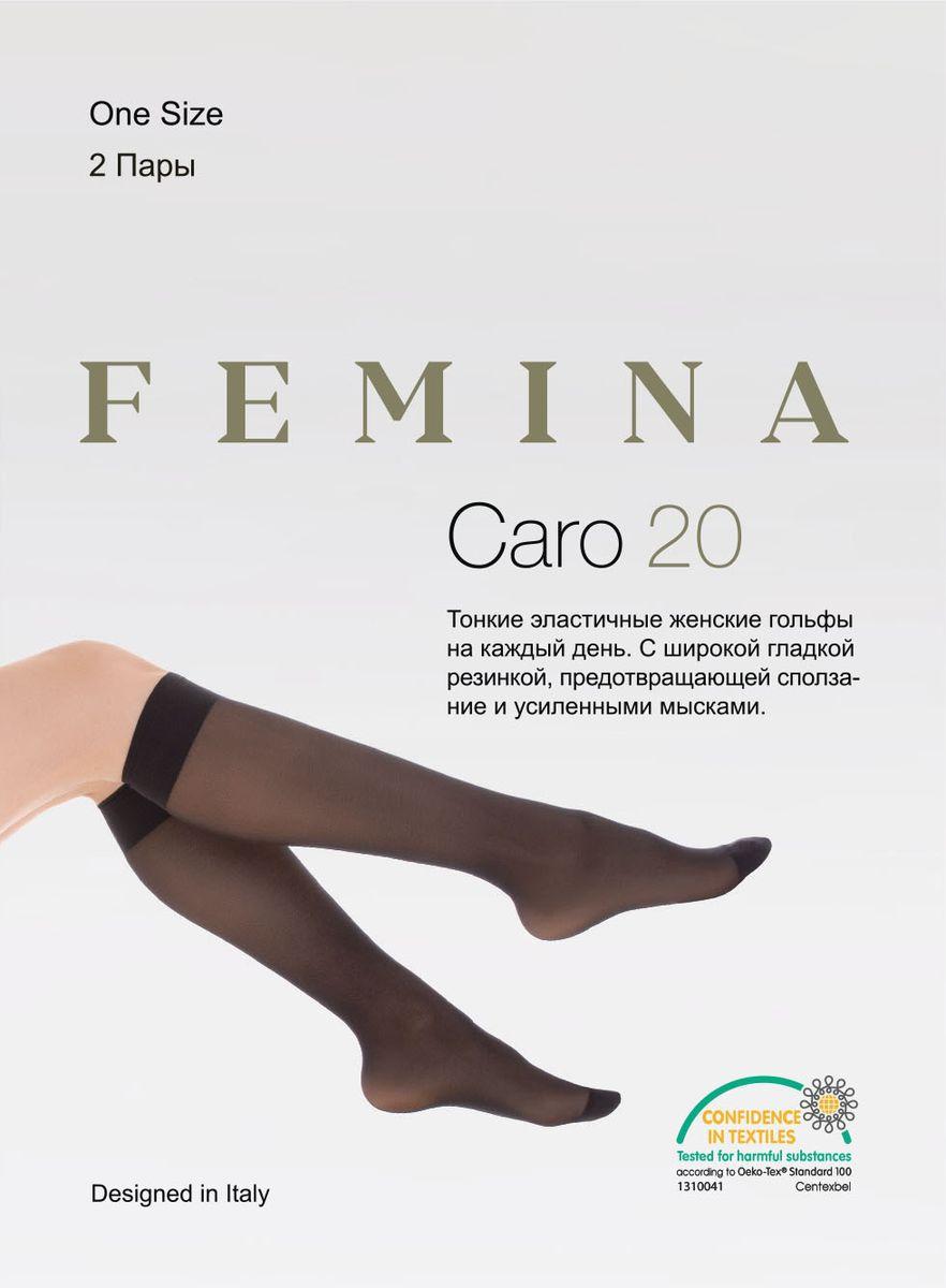 Гольфы Femina Caro гольфы женские glamour daily 40 цвет miele телесный 2 пары 25812 размер универсальный