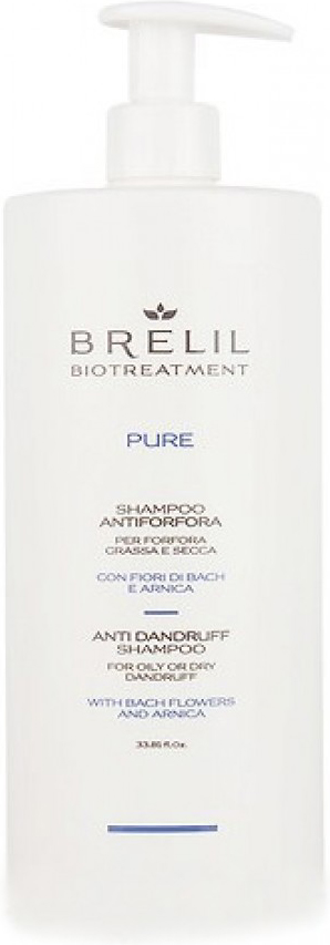 Brelil Bio Traitement Pure Anti Dandruff Shampoo Шампунь против перхоти, 1000 мл цены