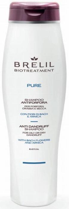 Brelil Bio Traitement Pure Anti Dandruff Shampoo Шампунь против перхоти, 250 мл цены